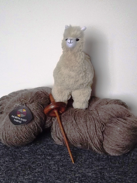 north east yarn, toy alpaca, Bendigo Sheep Show, yarn
