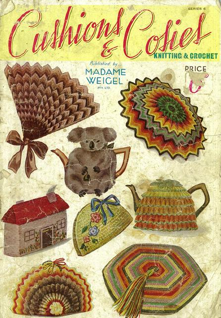 vintage koala tea cosy 1930s pattern