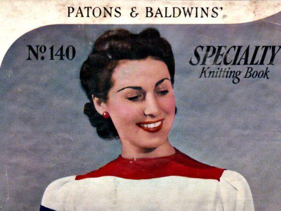 Retro Monday – Patons & Baldwins 140