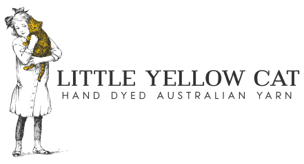 Little Yellow Cat - Hand Dyed Australian Yarn