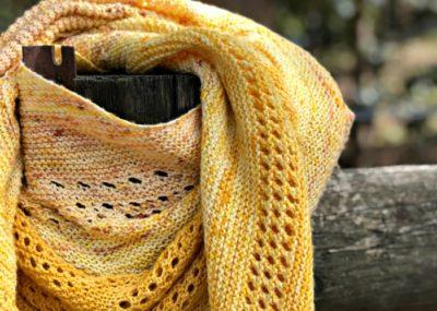 gloamin tide shawl